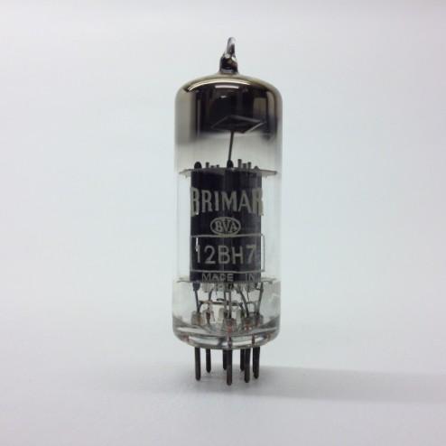12BH7  Brimar  UK Black Anode Double Triode Valve Tubes
